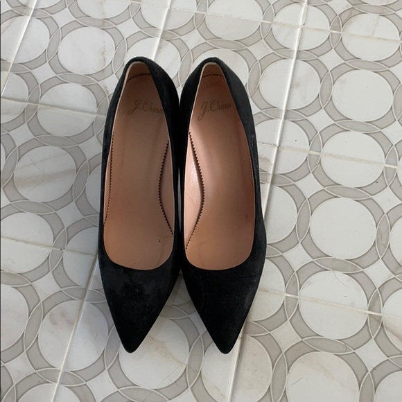 J. Crew pointed toe pumps
